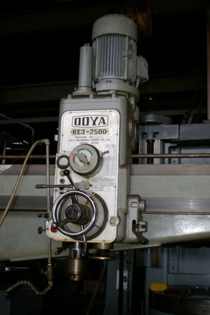 "17903 - 8' X 19"" OOYA RADIAL DRILLING MACHINE"