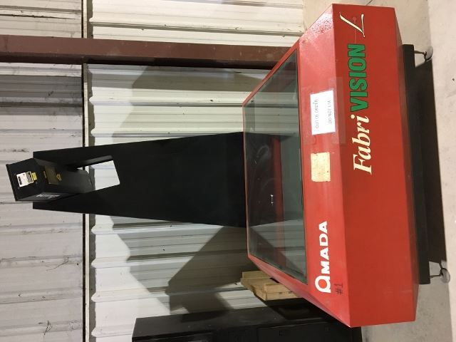 18483 - AMADA FABRIVISION #FVL-HD-4848 LASER INSPECTION MACHINE