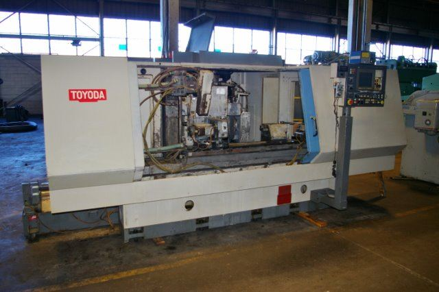 "18593 - PREOWNED 12"" X 40"" TOYODA #GU4-100 CNC UNIVERSAL CYLINDRICAL GRINDER"