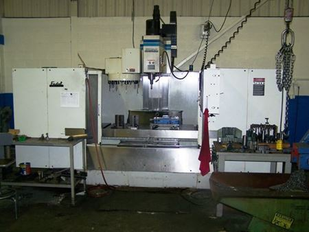Picture for category CNC Vertical Machining Centers