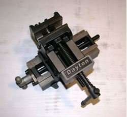 "Picture of 15663 - NEW 3"" DAYTON DRILL PRESS VISE WITH CROSS TRAVEL, MODEL 4YG28"