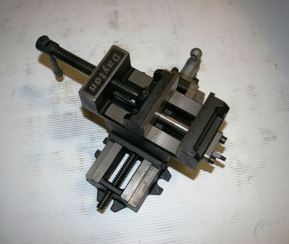"15663 - NEW 3"" DAYTON DRILL PRESS VISE WITH CROSS TRAVEL, MODEL 4YG28"