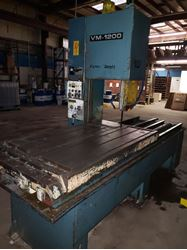 Picture of 60595 - #VM-1200 AMADA VERTICAL BAND BLOCK/PLATE SAW
