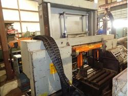 "Picture of 60611 - 18"" x 27"" HEM #F130HA-DC DOUBLE COLUMN PROGRAMMABLE AUTOMATIC HORIZONTAL BAND SAW"