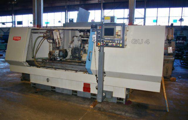 "60610 - PREOWNED 12"" X 40"" TOYODA #GU4-100 CNC UNIVERSAL CYLINDRICAL GRINDER"
