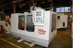 Picture of 60609 - HAAS #VF-3 VERTICAL MACHINING CENTER
