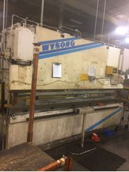 Picture of 60606 - 175 TON WYSONG HYDRAULIC PRESS BRAKE