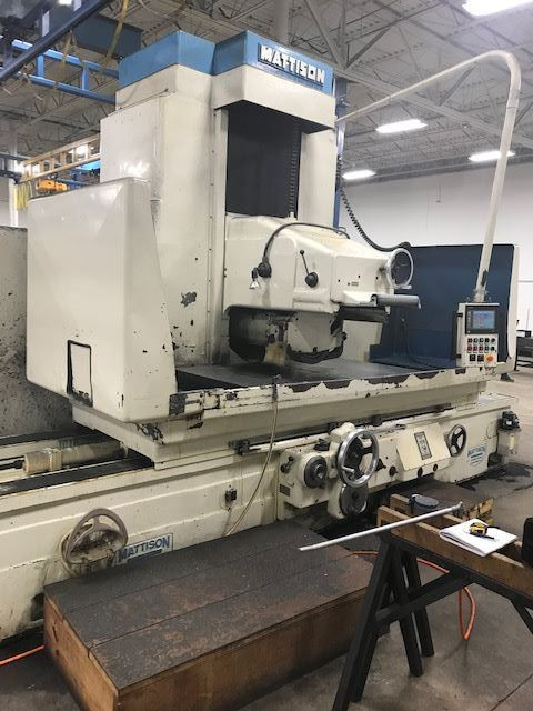 "60557 - 42"" X 74"" MATTISON HEAVY DUTY HYDRAULIC SURFACE GRINDER"