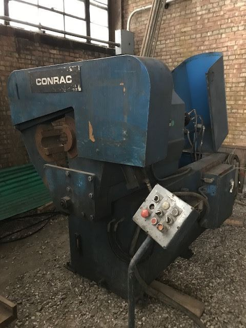 "60429 - 8"" IPS LEONARD (CONRAC) #M369 TUBE END FLANGING MACHINE"