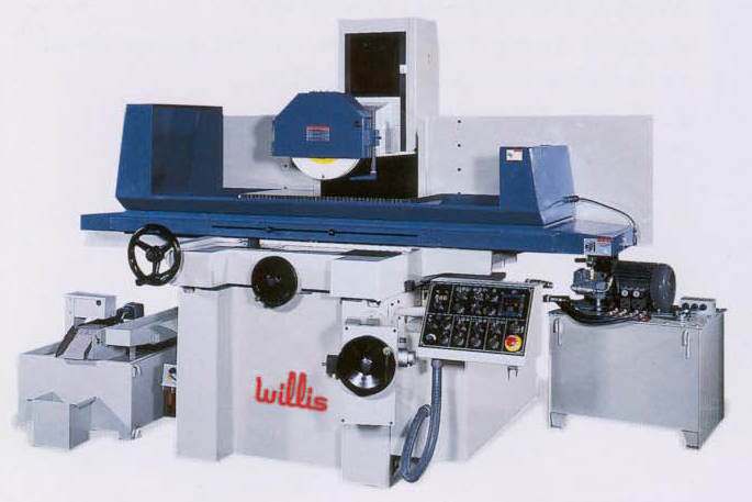 """74768 - (NEW) 16"""" X 32"""" WILLIS #1632-3A 3 AXIS AUTOMATIC SURFACE GRINDER"""
