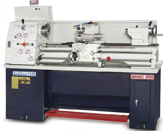 "74772 - NEW 13"" X 40"" WILLIS 1340 HIGH PERFORMANCE GAP BED LATHE"