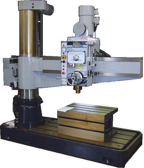 "74771 - (NEW) 66"" X 13.2"" WILLIS #RD-1700H HEAVY DUTY RADIAL DRILLING MACHINE"
