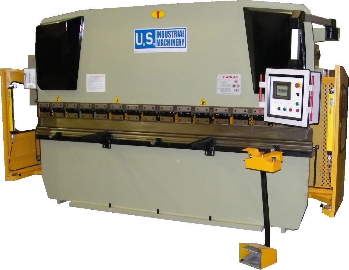 74750 - NEW U.S. INDUSTRIAL 88 TON X 8' HYDRAULIC PRESS BRAKE