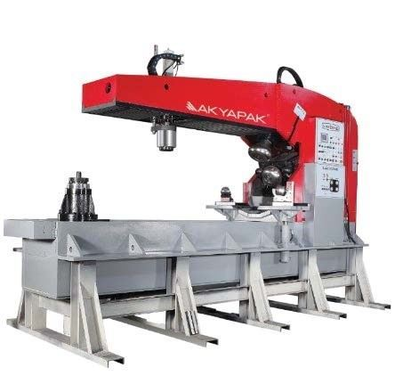 "74766 - (NEW) .315"" AKYAPAK BMB 8X3000 FLANGING MACHINE WITH CENTER HOLE VERSION"