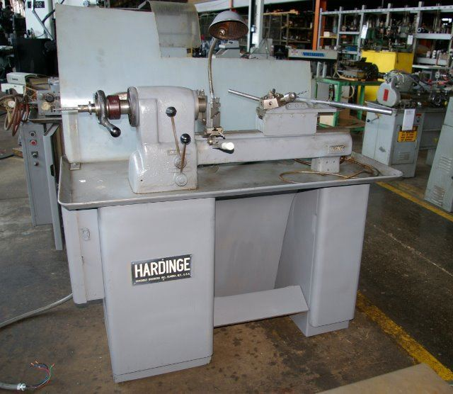60614 - HARDINGE MANUAL SECOND OPERATION TURRET LATHE