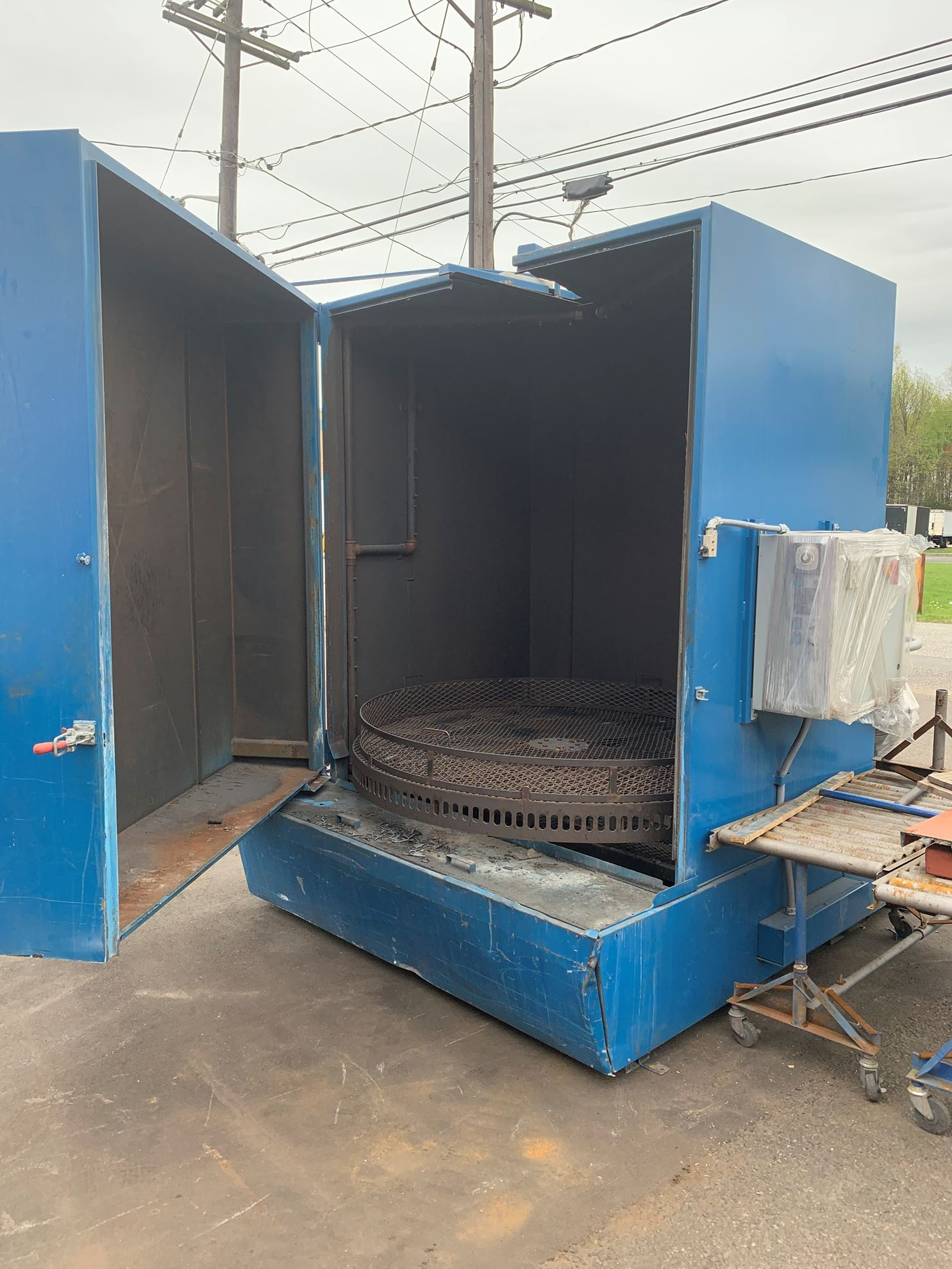 60618 - INTERCONT #7272 ROTARY TYPE CARBON STEEL PARTS WASHER