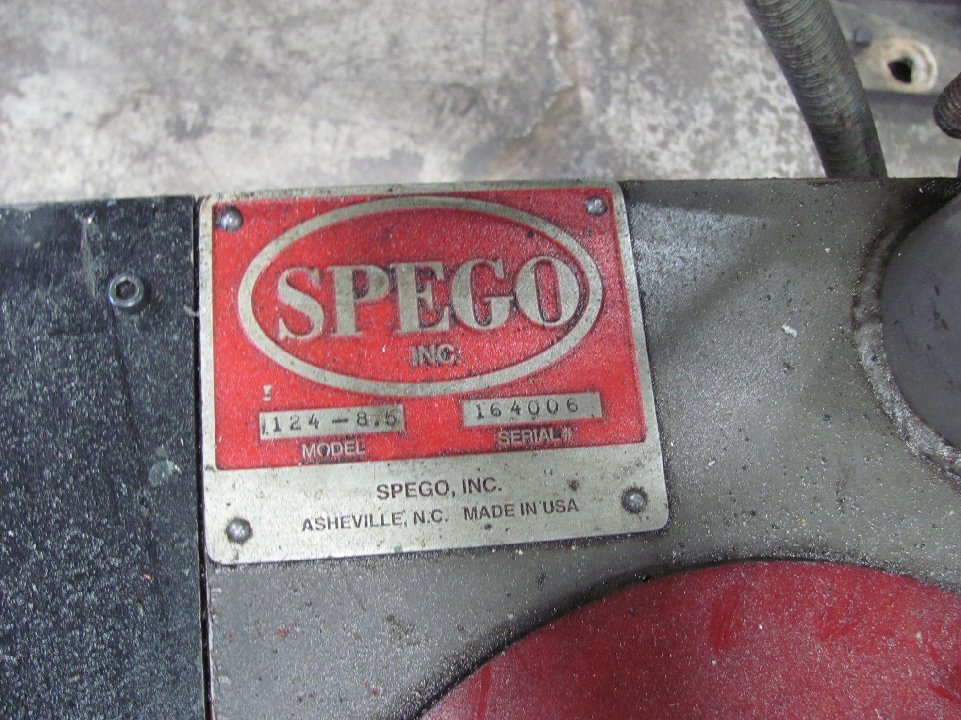 """20034 - 1-1/16"""" SPEGO TURNAMIC 124-8.5 HYDRO BAR FEEDER"""
