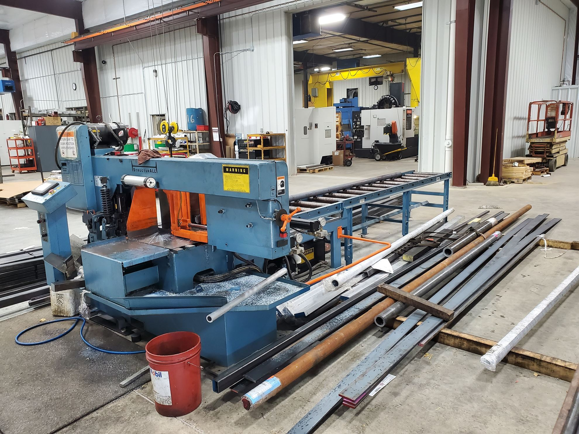 """20037 - 14"""" X 20"""" DOALL STRUCTURAL MITER CUTTING AUTOMATIC HORIZONTAL BAND SAW  MODEL 500SNC"""