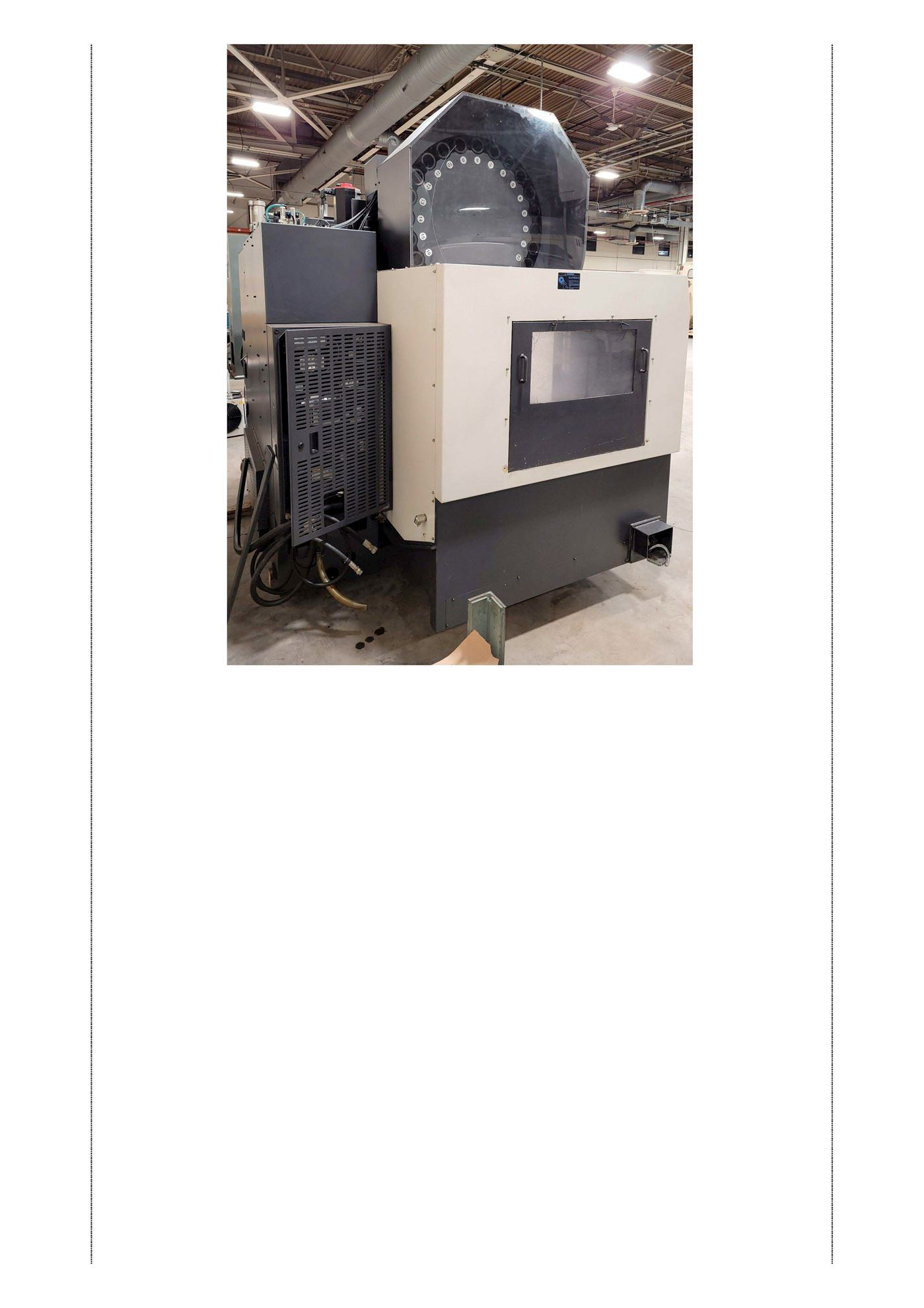 20041 - HWACHEON MODEL VESTA 1050B VERTICAL MACHINING CENTER