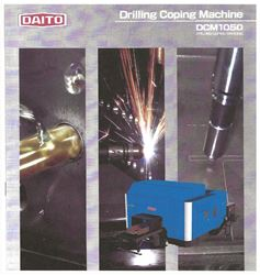 """Picture of 74783 - (NEW)40"""" X 20"""" DAITO DCM1050 STRUCTURAL MULTI-TASKING DRILLING, PLASMA COPING, MARKING MACHINE"""